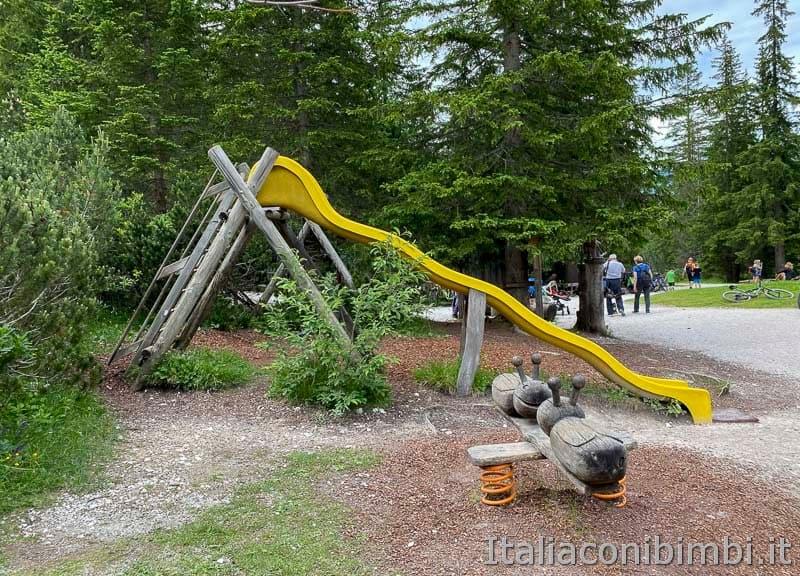 Val Fiscalina - rifugio Fondovalle parco giochi