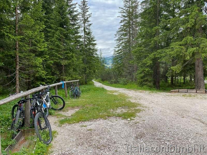 Val Fiscalina - sentiero per le biciclette