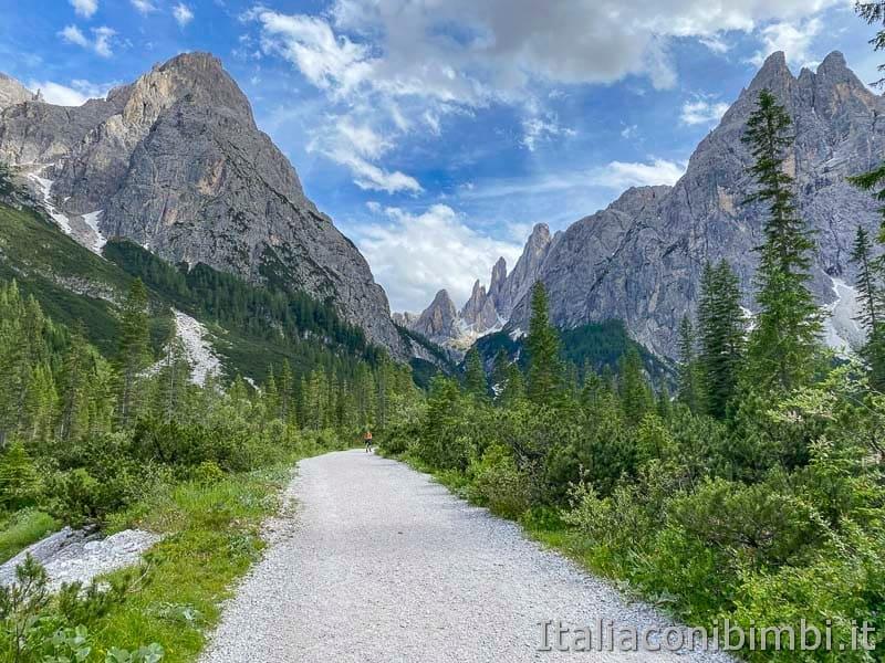 Val Fiscalina - sentiero ultima parte