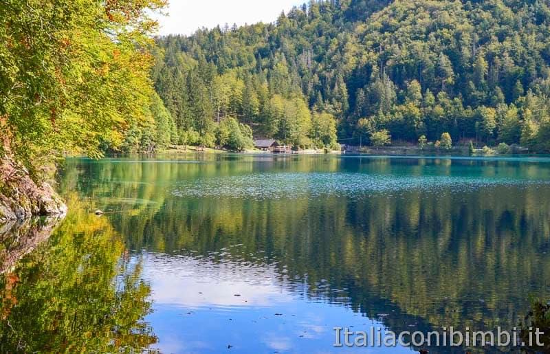 Laghi di Fusine - lago inferiore
