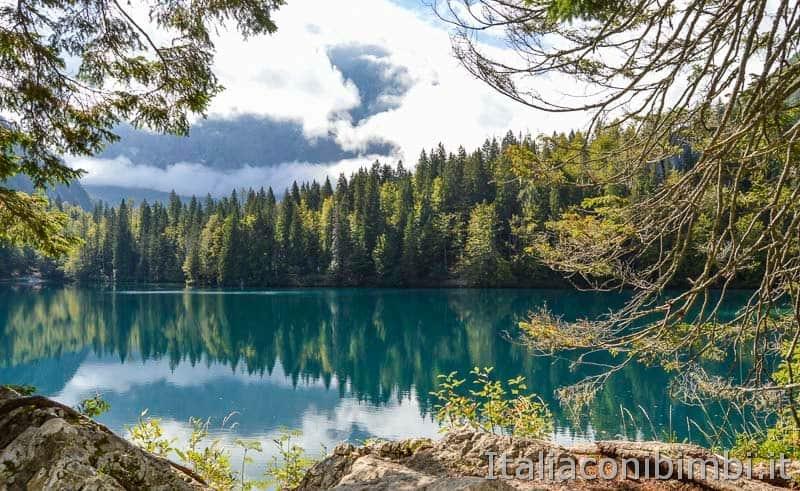 Laghi di Fusine - lago inferiore - scorcio