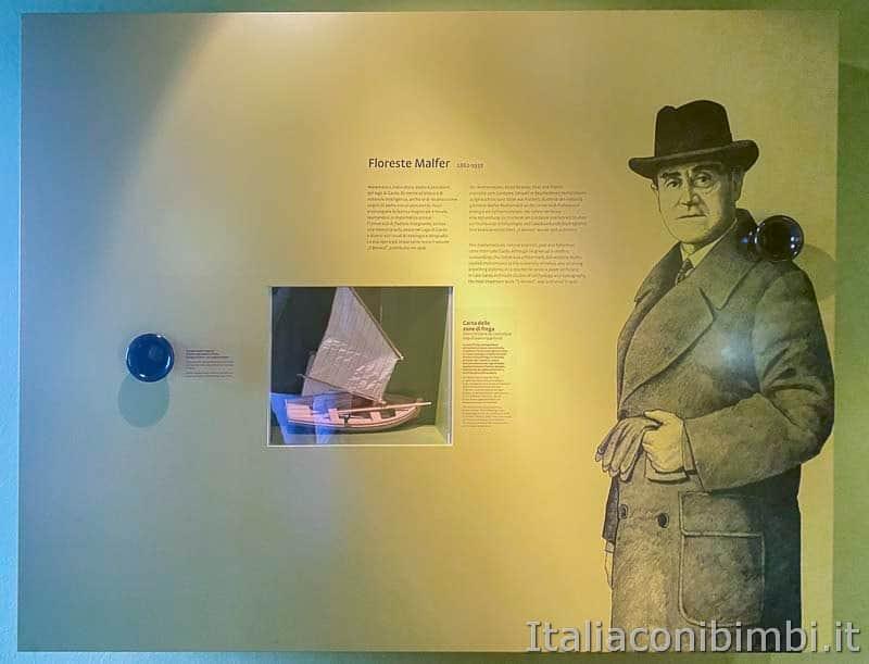 Malcesine - museo di storia naturale ricercatore
