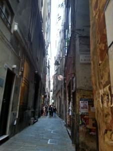 I carruggi a Genova