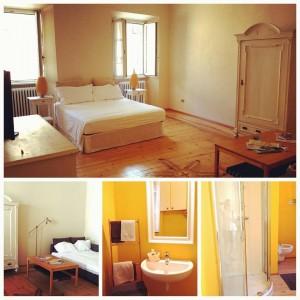 camera del b&b Al Cavour 34 a Trento