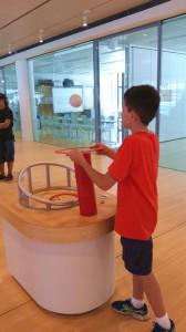 esperimenti Muse museo della scienza di Trento